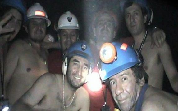 chilean miners gone wild