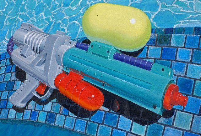 blue super soaker
