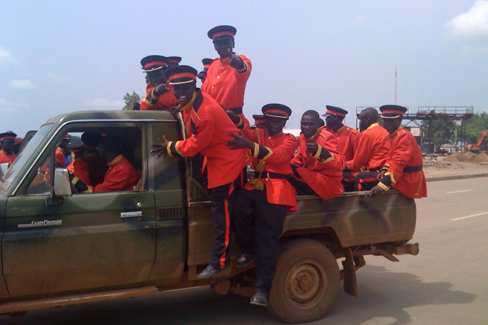 SPLA marching band